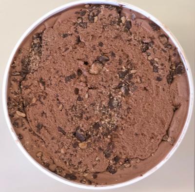 Chocolate Peanut Butter Homemade Ice Cream