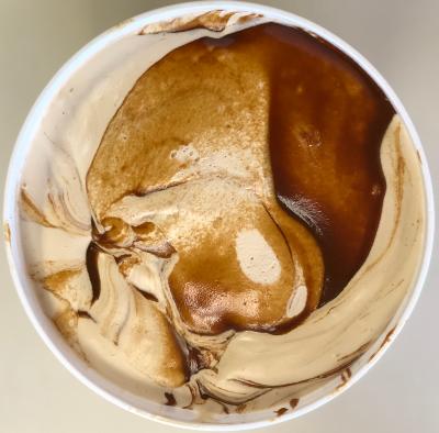 Salty Caramel Homemade Ice Cream