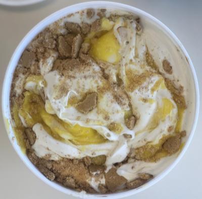 Lemon Cheesecake Homemade Ice Cream