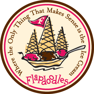 Flapdoodles homemade ice cream